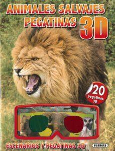 Permacultivo.es Animales Salvajes Pegatinas 3d Image