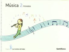 musica + cd caminos saber 2º primaria-9788468001326