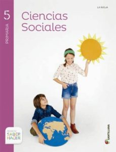 Enmarchaporlobasico.es Ciencias Sociales 5º Primaria + Atlas Saber Hacer La Rioja Image