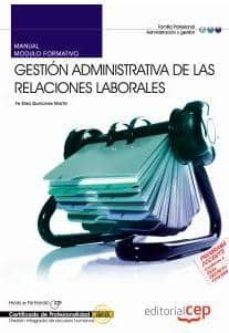 Colorroad.es Manual Gestion Administrativa De Las Relaciones Laborales. Certif Icados De Personalidad Image
