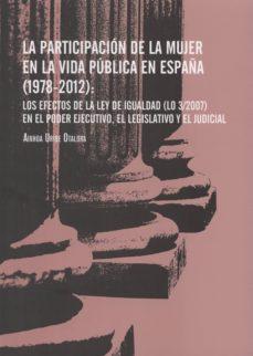 Viamistica.es La Participacion De La Mujer En La Vida Publica En España (1978-2 012) Image
