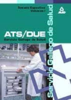 Curiouscongress.es Ats/due Del Servicio Gallego De Salud: Temario (Vol. 1) Image