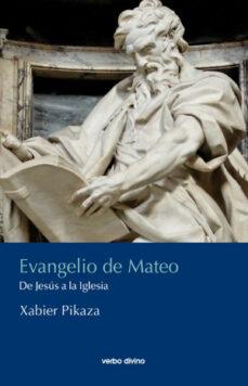 evangelio de mateo-jabier pikaza-9788490733226