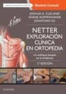 Libros de texto para descargar NETTER. EXPLORACIÓN CLÍNICA EN ORTOPEDIA 3ª EDICION (Literatura española)