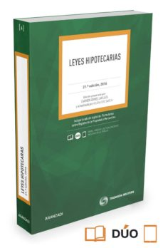 leyes hipotecarias (21ª ed)-carmen gomez laplaza-9788491351726