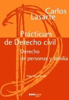 Descargar PRACTICUM DERECHO CIVIL DERECHO DE PERSONAS Y FAMILIA gratis pdf - leer online