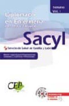 Upgrade6a.es Temario Vol. I. Oposiciones Diplomado En Enfermeria. Personal Est Servicio De Salud De Castilla Y Leon (Sacyl). Edicion Especial Image
