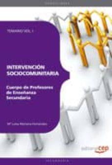 Lofficielhommes.es Cuerpo De Profesores De Enseñanza Secundaria. Intervencion Socioc Omunitaria. Temario. Vol. I Image