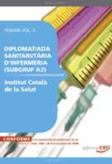 Iguanabus.es Diplomat/ada Sanitari/taria D Enfermeria (Subgrup A2) Institut Catala De La Salud. Temari Vol.ii Image