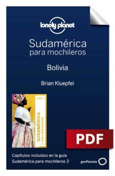 sudamérica para mochileros 3. bolivia (ebook)-regis st. louis-phillip tang-9788408186236