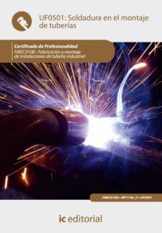 soldadura en el montaje de tuberías. fmec0108 (ebook)-9788417086336