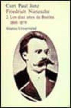 Lofficielhommes.es Los Diez Años De Basilea (1869-1879) (Friedrich Nietzsche; T.2) ( 2ª Ed.) Image