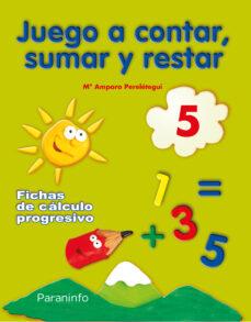 juego a contar sumar y restar 5 (educacion infantil)-9788424182236