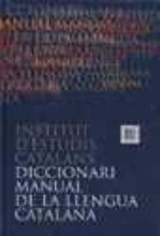 Cronouno.es Diccionari Manual De La Llengua Catalana Image