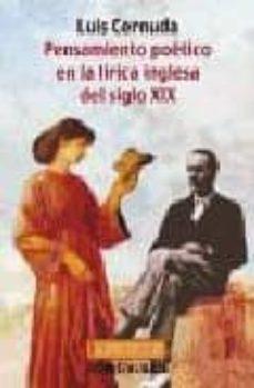 Chapultepecuno.mx Pensamiento Poetico En La Lirica Inglesa Del Siglo Xix (2ª Ed.) Image
