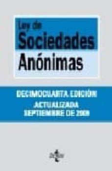 Descargar LEY DE SOCIEDADES ANONIMAS gratis pdf - leer online