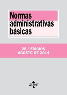 normas administrativas básicas (ebook)-9788430964536