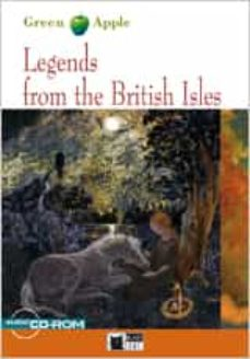 Descargas gratuitas de libros electrónicos de kobo LEGENDS FROM THE BRITISH ISLES (BOOK + CD-ROM) (BLACK CAT) 2º ESO 9788431690236 in Spanish de