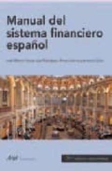 Inciertagloria.es Manual De Sistema Financiero Español (21ª Ed.) Image