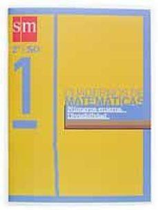 Permacultivo.es Proyecto Recuperacion. Cuaderno De Matematicas 1 (2º Eso): Numero S Enteros, Divisibilidad (Ed. 2004) Image