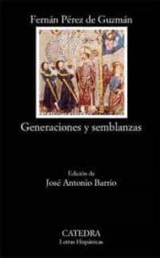 Descarga de texto completo de libros de Google. GENERACIONES Y SEMBLANZAS