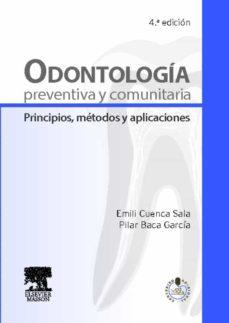 odontología preventiva y comunitaria-e. cuenca-9788445822036