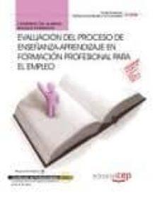 Viamistica.es Cuaderno Del Alumno Evaluacion Del Proceso De Enseñanza-aprendiza Je En Formacion Profesional Para El Empleo (Certificados De Profesionalidad) Image