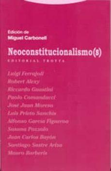 neoconstitucionalismo(s)-9788481645736