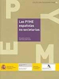 Curiouscongress.es Las Pyme Españolas No Societarias: Situacion Economica (Ejercicio S 2000-2001) (Incluye Cd-rom) Image