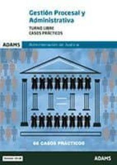 gestion procesal y administrativa turno libre casos practicos administracion de justicia-9788491471936