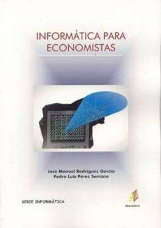 Descargar INFORMATICA PARA ECONOMISTAS gratis pdf - leer online
