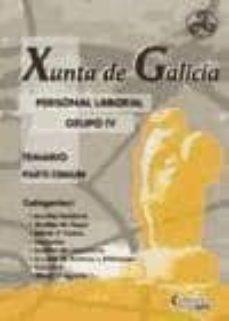Inmaswan.es Personal Laboral Grupo Iv Xunta De Galicia: Temario Parte Comun Image