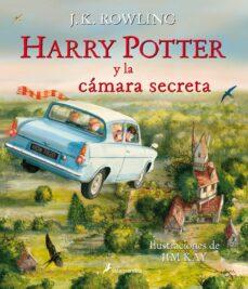 Descarga gratuita de libros electrónicos en computadora en formato pdf. HARRY POTTER Y LA CAMARA SECRETA (ILUSTRADO) (Literatura española)