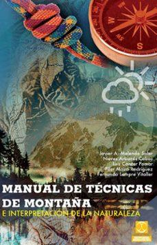 manual de tecnicas de montaña-9788499101736