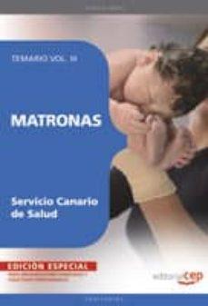 Titantitan.mx Matronas Del Servicio Canario De Salud. Temario Vol. Iii. Edicion Especial Image