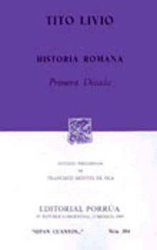 historia romana . primera decada-tito livio-9789684327436