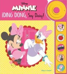 minnie mouse, libro con timbre 6 botones-9781503734746