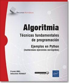 Descargar ALGORITMIA: TECNICA FUNDAMENTALES DE PROGRAMACION - EJEMPLOS EN PYTHON  - BTS, DUT INFORMATICA gratis pdf - leer online