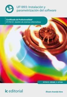 instalación y parametrización del software. ifct0510 (ebook)-9788416629046