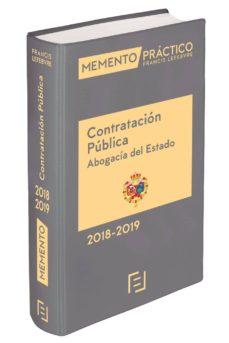 memento contratación pública abogacía del estado 2018-2019-9788416924646