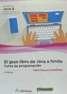 Descargar EL GRAN LIBRO DE JAVA A FONDO: CURSO DE PROGRAMACION gratis pdf - leer online