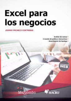 Descargar EXCEL PARA LOS NEGOCIOS gratis pdf - leer online