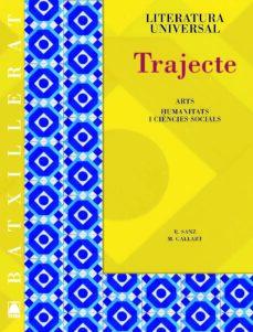 trajecte, literatura universal, batxillerat. guies de lectura-9788430753246