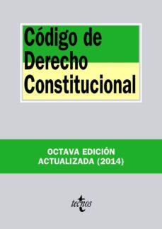 Curiouscongress.es Codigo De Derecho Constitucional (8ª Ed.) Image