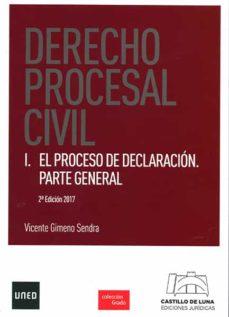 Padella.mx Derecho Procesal Civil I. El Proceso De Declaración. Parte Genera L Image