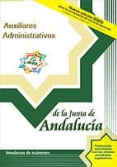 Followusmedia.es Auxiliares Administrativos De La Junta De Andalucia: Simulacros D E Examen Image