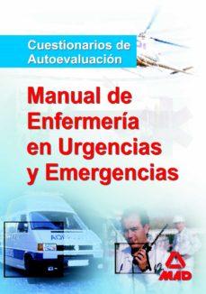 Descarga gratuita de libros para mp3. MANUAL DEL DIPLOMADO EN ENFERMERIA DE URGENCIAS Y EMERGENCIAS. TE ST