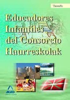 Chapultepecuno.mx Educadores Infantiles Del Consorcio Haurreskolak. Temario Image