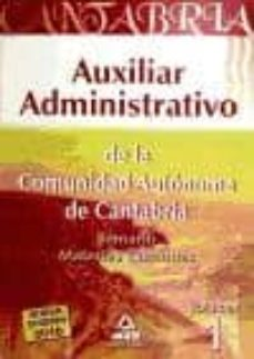 Costosdelaimpunidad.mx Auxiliar Administrativo (Comunidad De Cantabria) Materias Comunes (Volumen I) Image