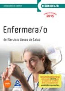 Javiercoterillo.es Enfermera/o De Osakidetza-servicio Vasco De Salud. Simulacros De Examen Image